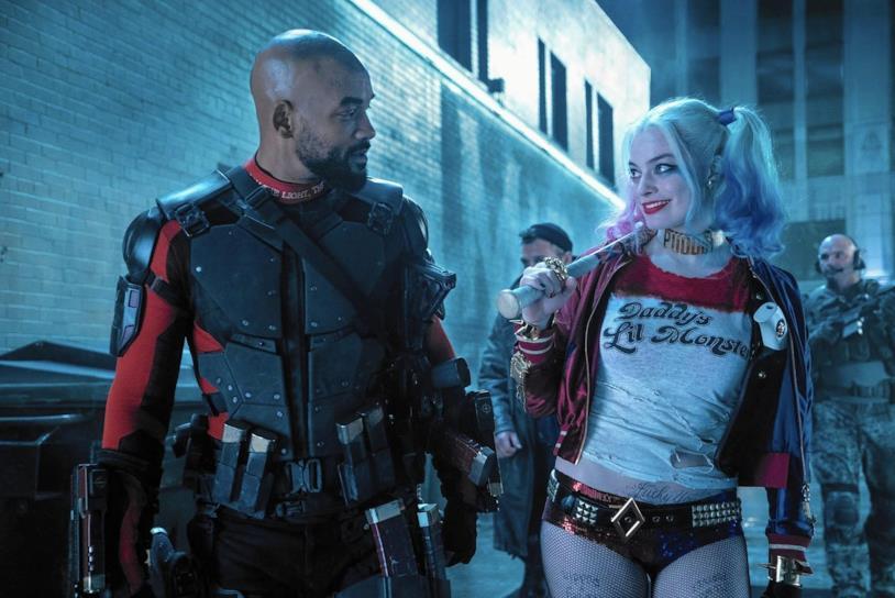 Deadshot e Harley Quinn in Suicide Squad