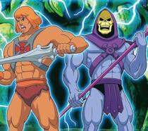 He-Man e Skeletor protagonisti della serie animata anni '80