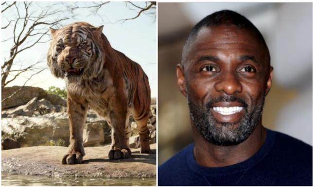 Collage tra Idris Elba e Shere Khan