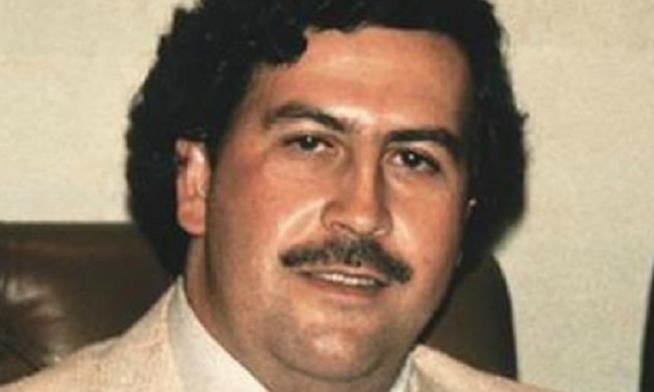 Il viso di Pablo Escobar