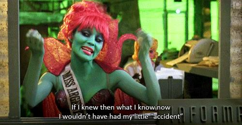 Miss Argentina in Beetlejuice