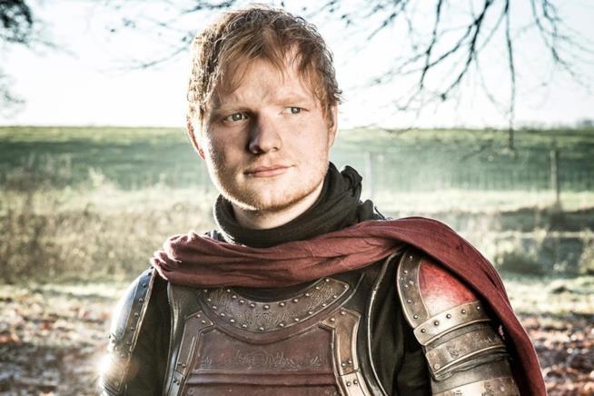 Il cameo del cantante britannico in Game of Thrones