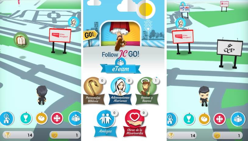 Alcune immagini di gioco da Follow JC Go