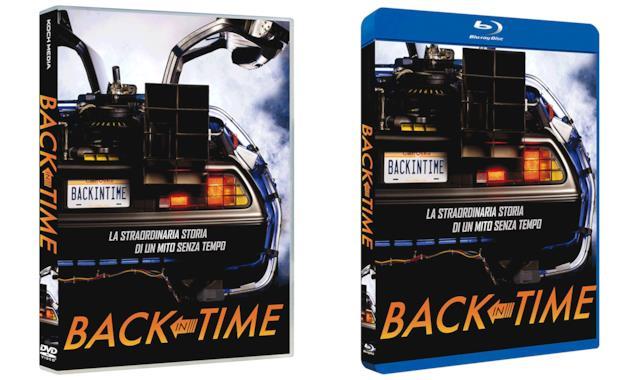 Le cover delle edizioni DVD e Blu-ray di Back in Time