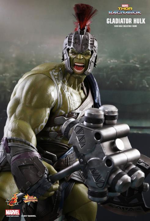 I muscoli di Hulk si mostrano in questi splendidi dettagli della scale figure Hot Toys