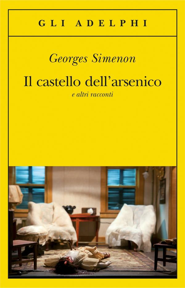 La copertina di Il castello dell'arsenico