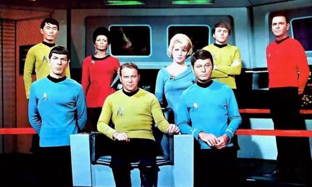 L'equipaggio della USS Enterprise
