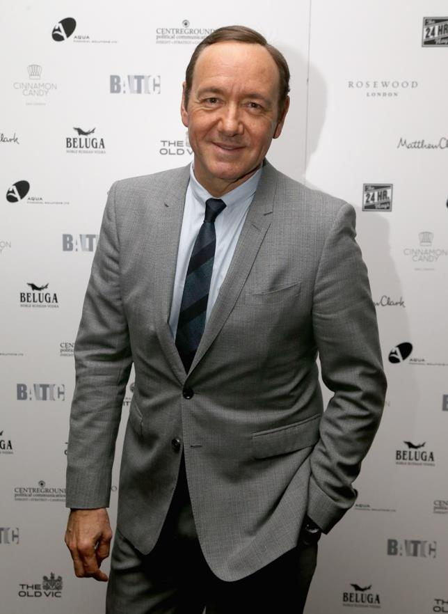Kevin Spacey a un evento di The Old Vic Theater di Londra