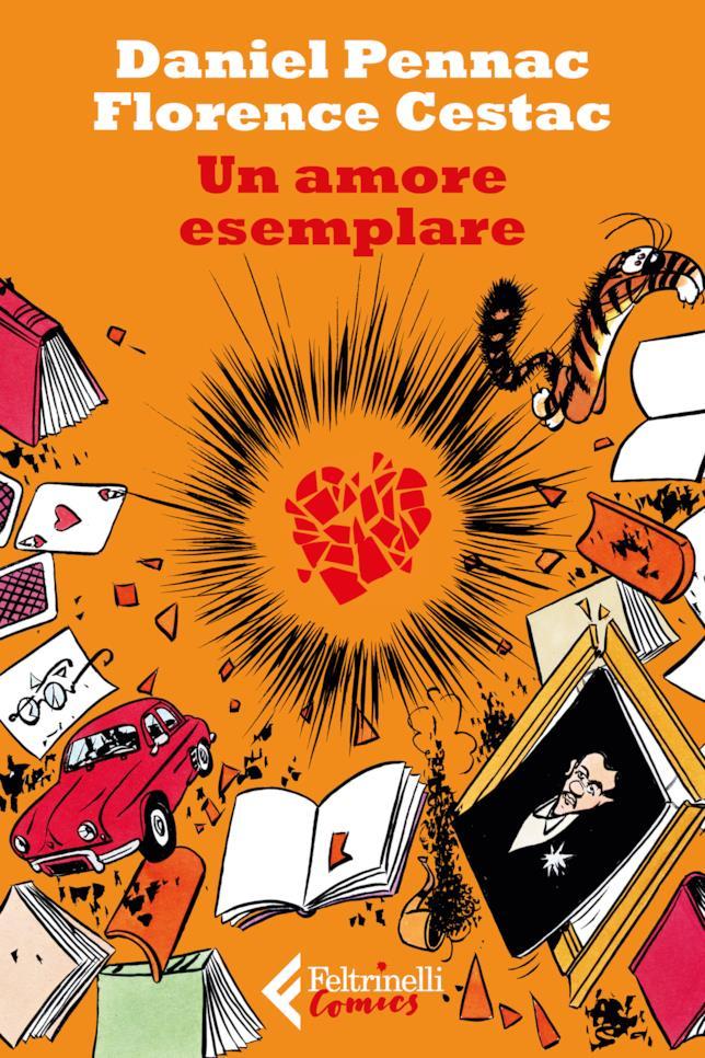 La copertina del fumetto di Daniel Pennac
