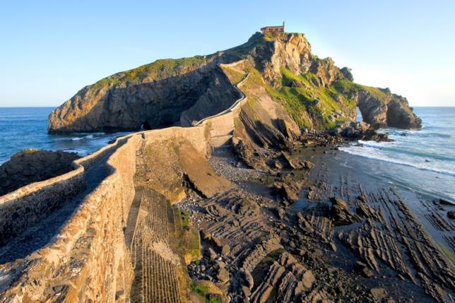 San Juan de Gaztelugatxe diventa Roccia del Drago
