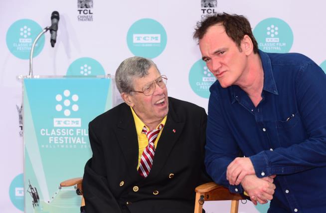 Jerry Lewis e Quentin Tarantino