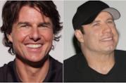 Collage tra Tom Cruise e John Travolta