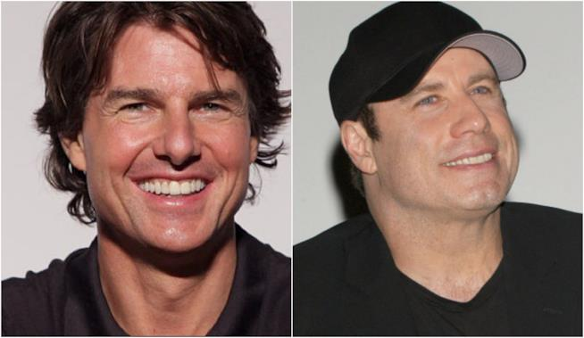 Collage tra Tom Cruise e John Travolta