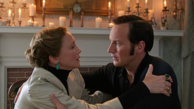 I coniugi Warren interpretati da Vera Farmiga e Patrick Wilson
