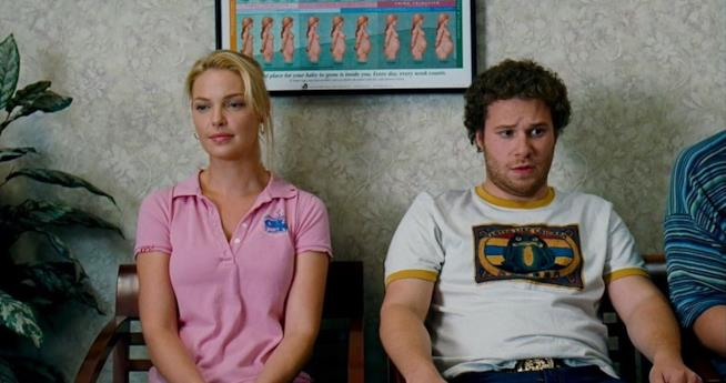 Katherine Heigl, scena del film Molto incinta.