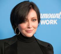 Shannen Doherty sul carpet del lancio di Paramount Network