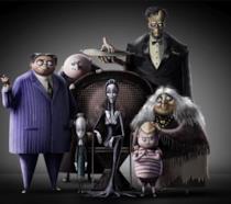 La prima immagine de La famiglia Addams