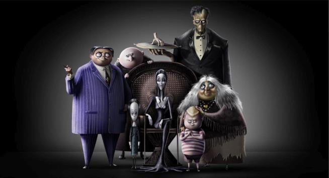 The Addams Family - Prima immagine, cast e trama del nuovo film animato