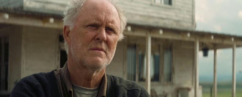L'attore John Lithgow nel film Interstellar