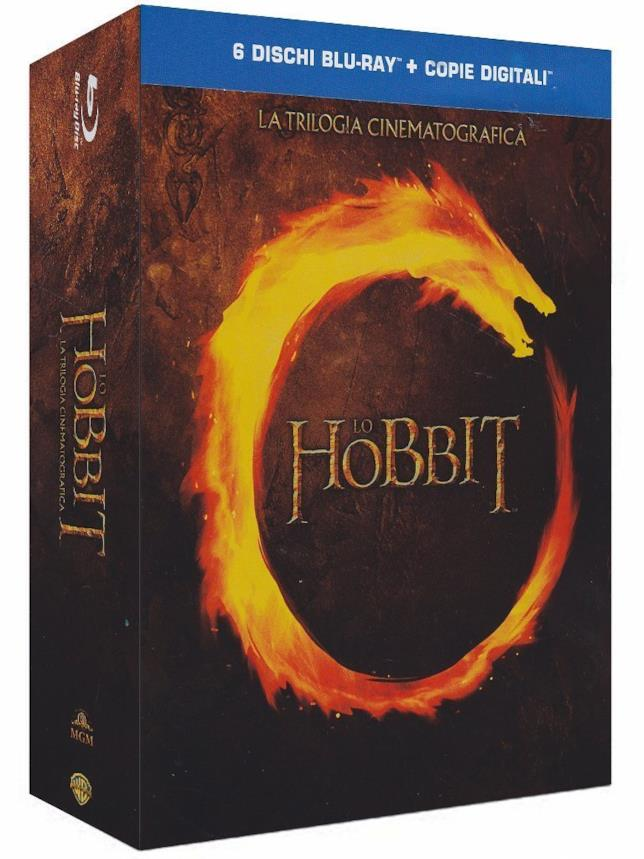 Trilogia de Lo Hobbit in Blu-ray