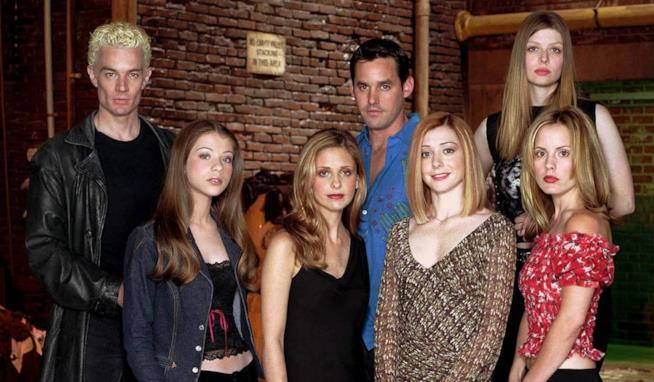Un'immagine del cast di Buffy