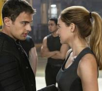 Shailene Woodley in una scena di Divergent