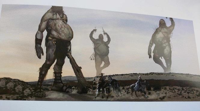 Una delle concept art del film