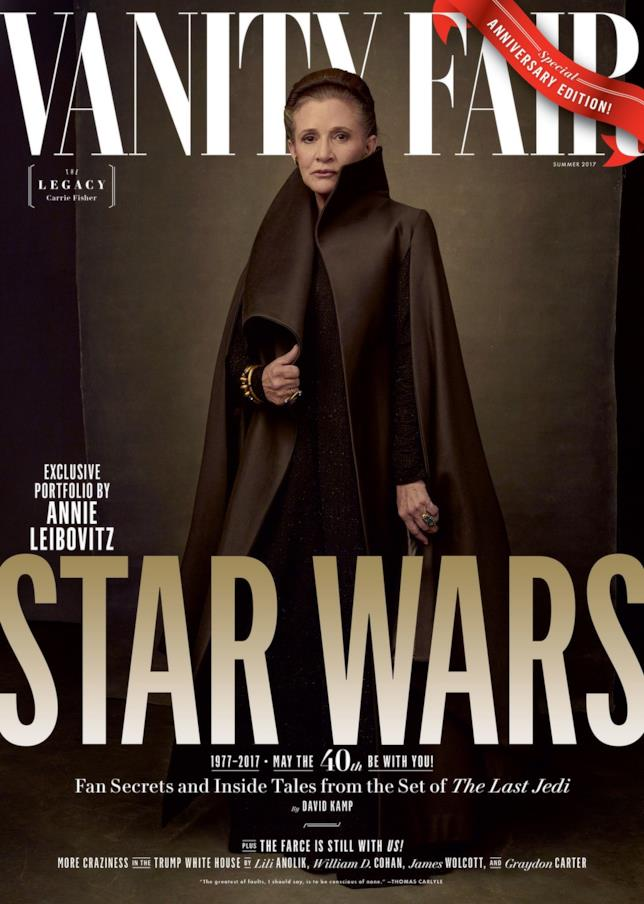 Vanity Fair: Leia Organa