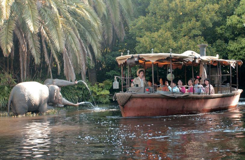 Un'immagine della crociera Disney