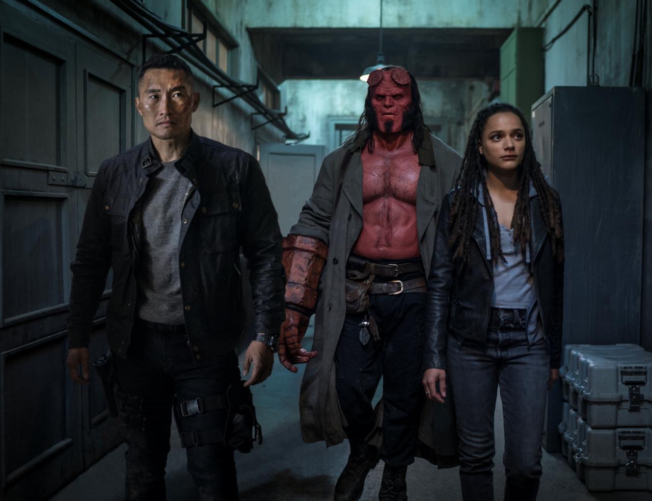 Hellboy: il Diavolo Rosso potrà contare sull'aiuto di Alice Monaghan e del Maggiore Ben Daimio