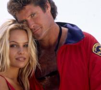 David Hasselhoff e Pamela Anderson