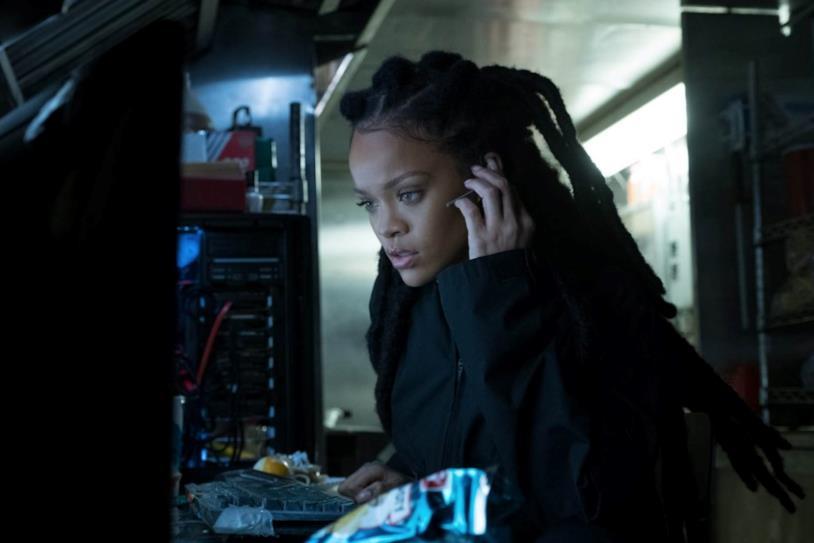 Rihanna in una scena del film