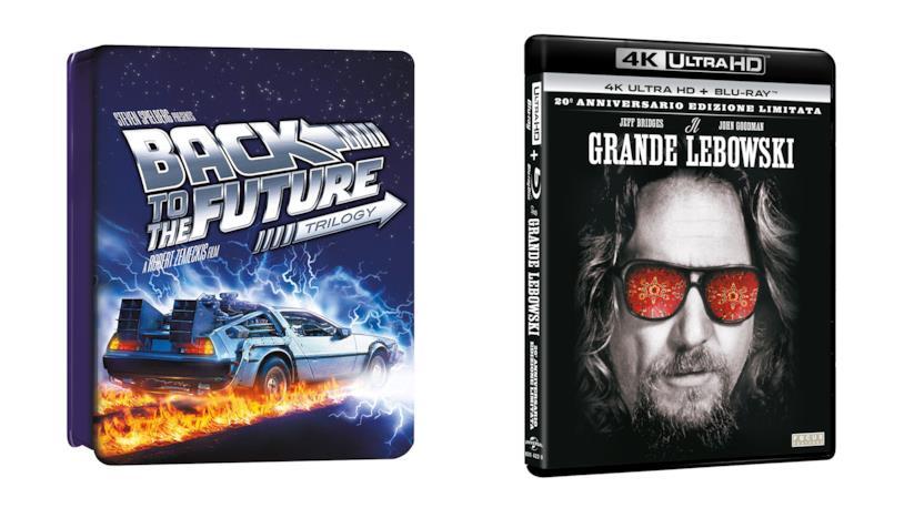Le Collector's Edition di Ritorno al Futuro e Il Grande Lebowski
