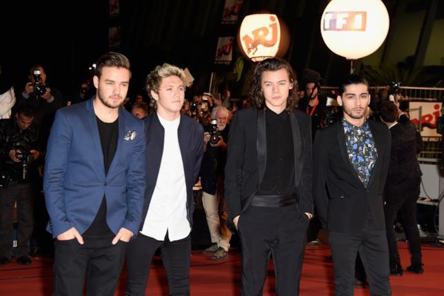 Foto di gruppo degli One Direction