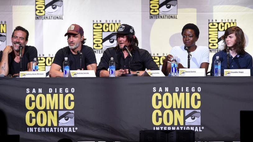 Il cast di The Walking Dead 8