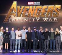 Il cast di Avengers: Infinity Wars alla D23 Expo