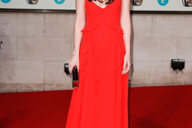 Dakota Johson ai Bafta 2016 a Londra