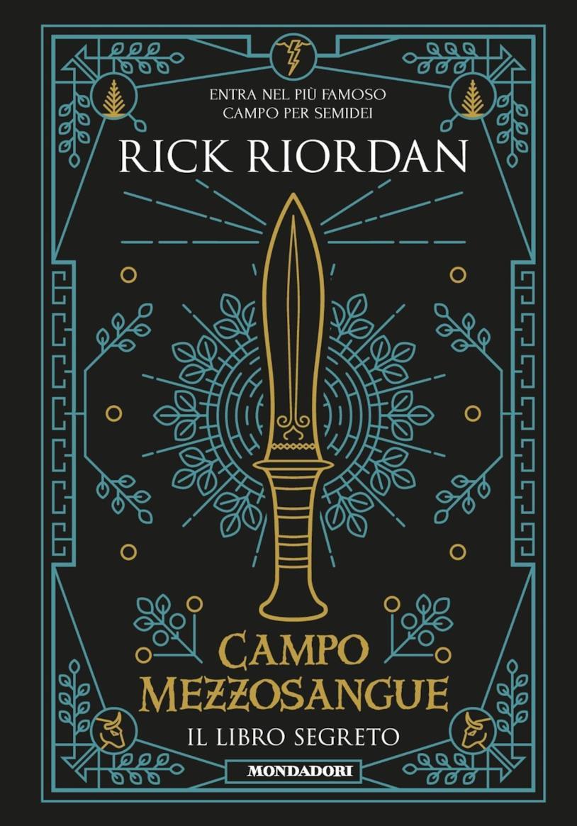 La copertina del libro Campo mezzosangue. Il libro segreto