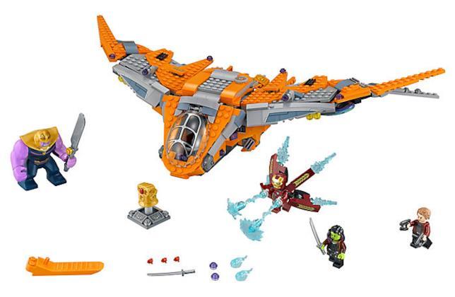 Dettagli del set LEGO Thanos: la battaglia finale