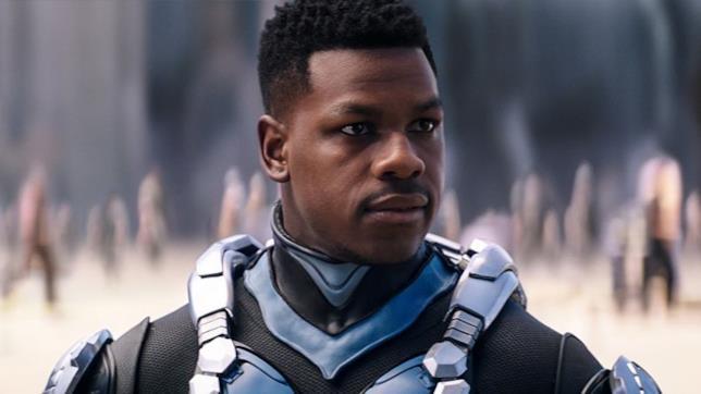 L'attore John Boyega in Pacific Rim - La Rivolta