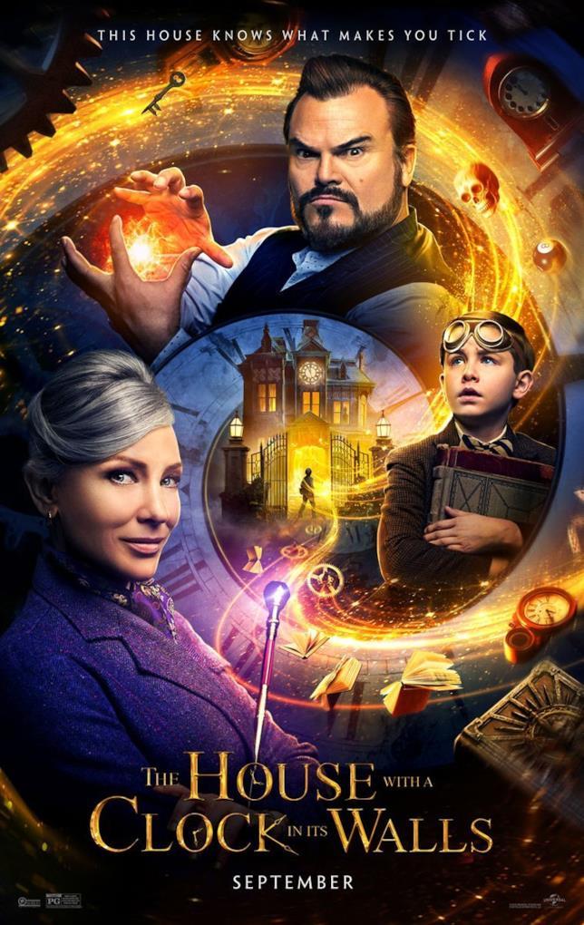 Il mistero della casa nel tempo: la locandina del film