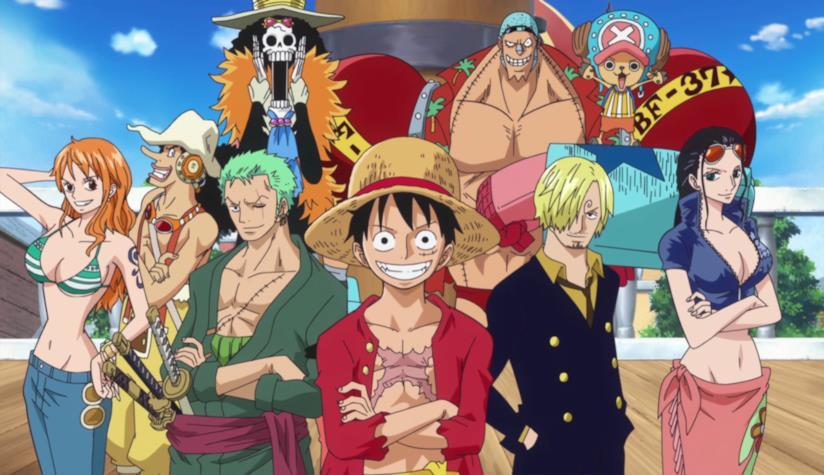 One Piece, la ciurma di Rufy