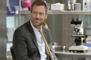 Hugh Laurie nel suo ruolo più famoso, Dr. House