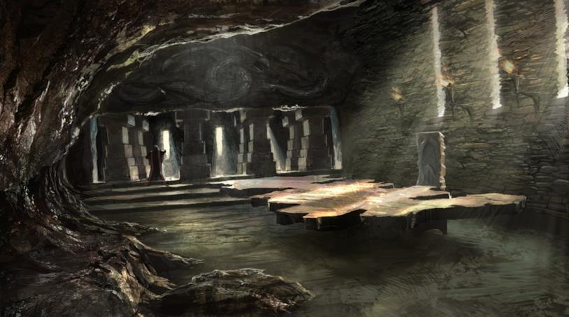 Un'immagine del tavolo voluto da Aegon I