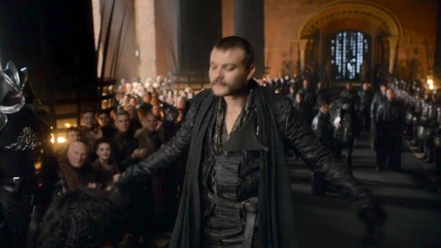 Euron si inchina in Game of Thrones 7x03