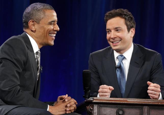 Il Presidente Obama al Tonight Show
