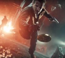 Nathan Drake in azione in una sequenza di Uncharted 4