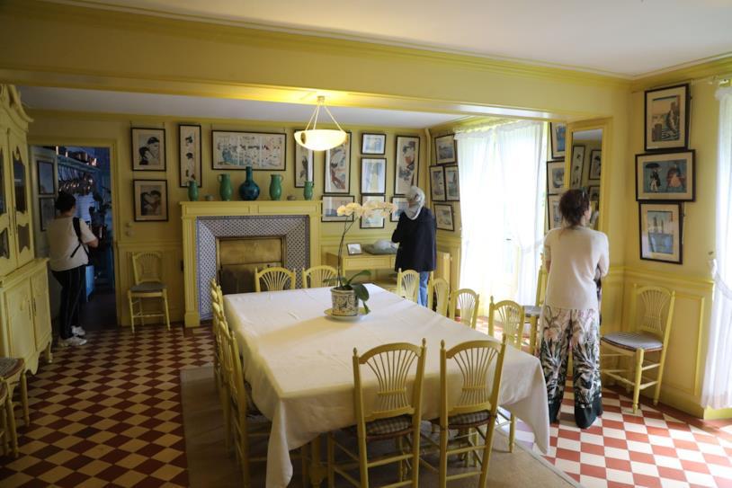 La casa di Monet a Giverny è diventato un bed and breakfast
