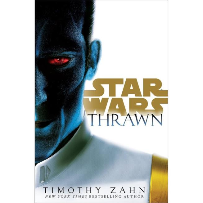 Copertina del romanzo Star Wars: Thrawn