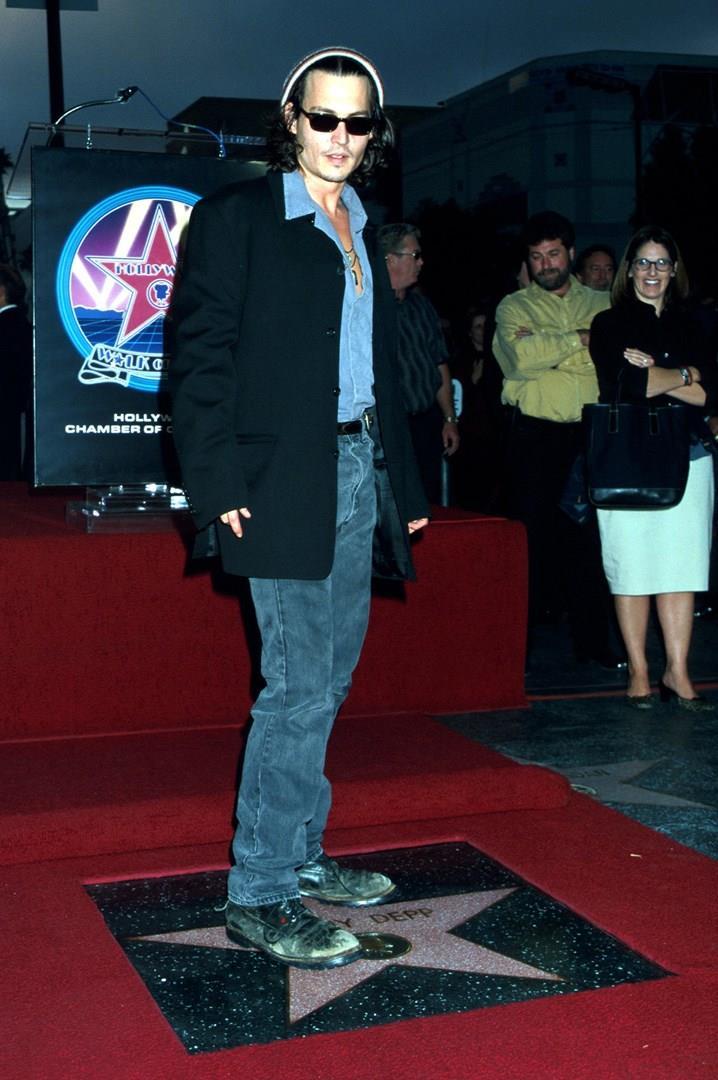 Johnny Depp sulla Walk of Fame